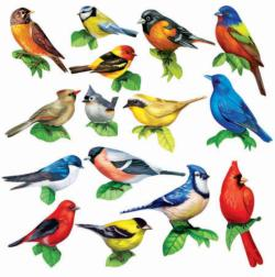 Songbirds II Collage Jigsaw Puzzle