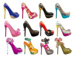 Shoes I Collage Jigsaw Puzzle