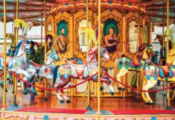 Carousel in a Square, Florence Italy Italy Jigsaw Puzzle