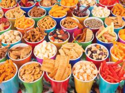 Salty Snack Cups Food and Drink Large Piece