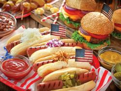 American Picnic Food and Drink Jigsaw Puzzle