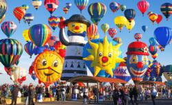 Fun Shaped Hot Air Balloons Balloons Jigsaw Puzzle