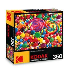 KODAK Premium Puzzles - Lollipop Swirls Sweets Jigsaw Puzzle