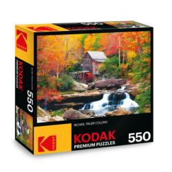 KODAK Premium Puzzles - Glade Creek Mill, Babcock State Park Photography Jigsaw Puzzle