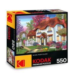 KODAK Premium Puzzles - Cozy Cottage Photography Jigsaw Puzzle