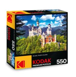 KODAK Premium Puzzles - Neuschwanstein Castle, Bavaria Photography Jigsaw Puzzle