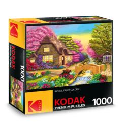 KODAK Premium Puzzles - Dream Cottage Retreat Photography Jigsaw Puzzle