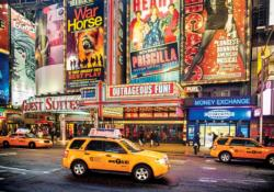 Bright Lights Big City NYC New York Jigsaw Puzzle