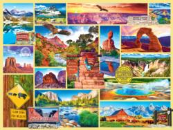 US National Parks National Parks Jigsaw Puzzle