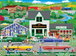 Flowers from the Valley Americana & Folk Art Jigsaw Puzzle