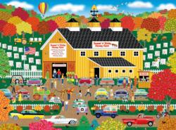 Sweet n Sticky Honey Farm Farm Jigsaw Puzzle