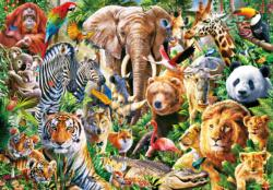 African Wildlife Animals Jigsaw Puzzle