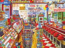 The Local Five and Dime Shopping Jigsaw Puzzle