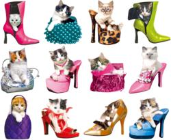 Pretty Kitties Cats Jigsaw Puzzle
