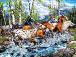 22 Running Horses Horses Jigsaw Puzzle