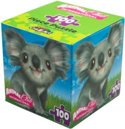 Animal Club Cube Koala Animals Children's Puzzles