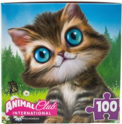 Animal Club Cube Cutie Kitty Cats Children's Puzzles