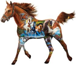 Free Runner Horses Jigsaw Puzzle