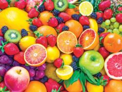 Fresh Mixed Fruits Food and Drink Jigsaw Puzzle