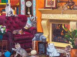 Cosy Kittens Cats Jigsaw Puzzle