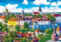 Tallinn Estonia - The Old City Skyline / Cityscape Jigsaw Puzzle