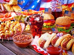 Burgers and Hot Dogs Food and Drink Jigsaw Puzzle