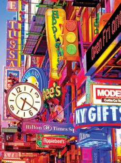 New York City Sign New York Jigsaw Puzzle