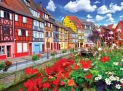 Colorful Buildings Colmar France France Jigsaw Puzzle