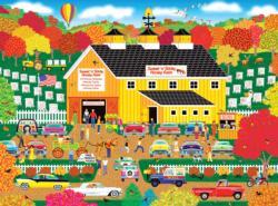 Home Country - Sweet 'N' Sticky Honey Farm Farm Jigsaw Puzzle