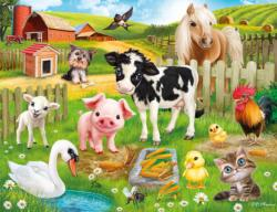 Animal Club 48PC - Farm Pig Children's Puzzles