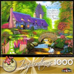 Secret Cottage Cottage / Cabin Jigsaw Puzzle