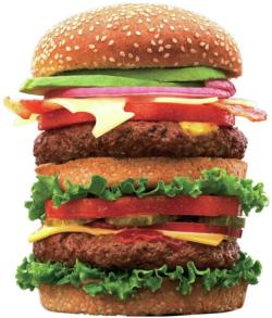 Juicy Burger Food and Drink Jigsaw Puzzle