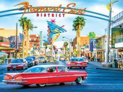 Downtown Freemont St Las Vegas NV Las Vegas Jigsaw Puzzle