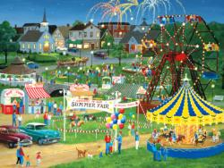 Light Up Country Fair Carnival Jigsaw Puzzle