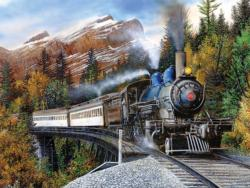 Autumn Express Trains Jigsaw Puzzle