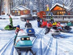 Poker Runs II Winter Jigsaw Puzzle