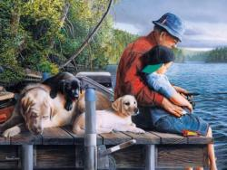 Memories Fishing Jigsaw Puzzle