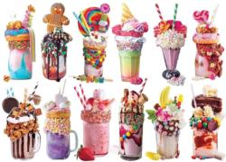 Freak Shakes Sweets Miniature Puzzle