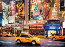 Bright Lights Big City New York Jigsaw Puzzle