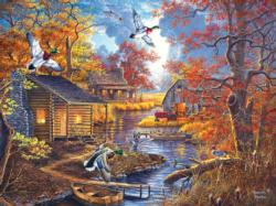 Bayou Haven Cottage / Cabin Jigsaw Puzzle