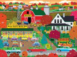 Autumn Harvest Farm Jigsaw Puzzle