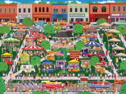 Small Town Big Summer Fair Carnival Jigsaw Puzzle