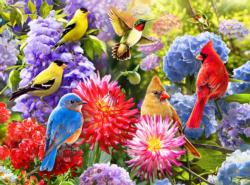 Spring Meet Up Flowers Jigsaw Puzzle