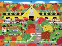 Home Country - Horse Lovers' Paradise Horses Jigsaw Puzzle