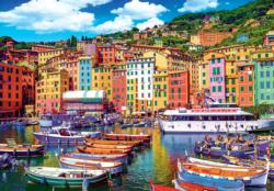 Old Town Of Gamogli, Italy Italy Jigsaw Puzzle
