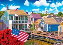Nantucket, Massachusetts - Scratch and Dent Seascape / Coastal Living Jigsaw Puzzle