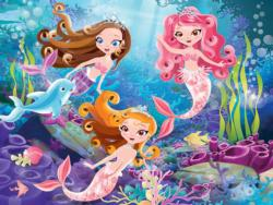 Mermaid Princess Mermaids Children's Puzzles