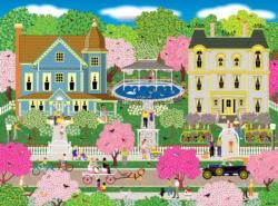 Victorian Town Domestic Scene Jigsaw Puzzle