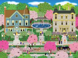 Victorian Town Cities Jigsaw Puzzle