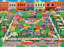 Home Country - Small Town Big Summer Fair Carnival Jigsaw Puzzle
